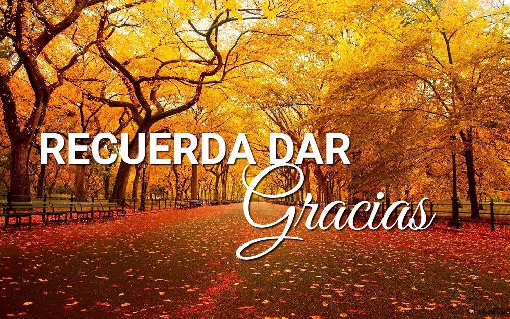 Recuerda Dar Gracias — ICP Orlando